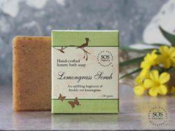 Lemongrass Scrub Soap