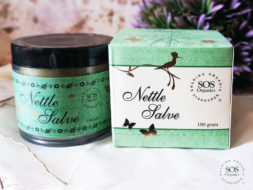 All natural Himalayan Nettle Salve from SOS Organics