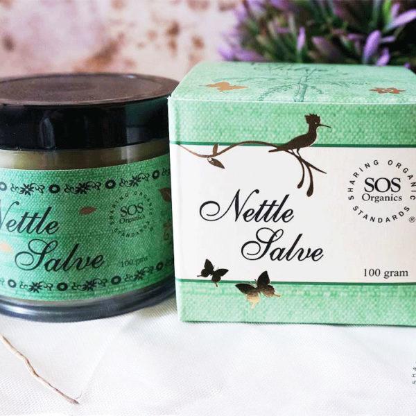 All natural Himalayan Nettle Salve from SOS Organics