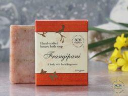 Frangipani Luxury Bath Soap