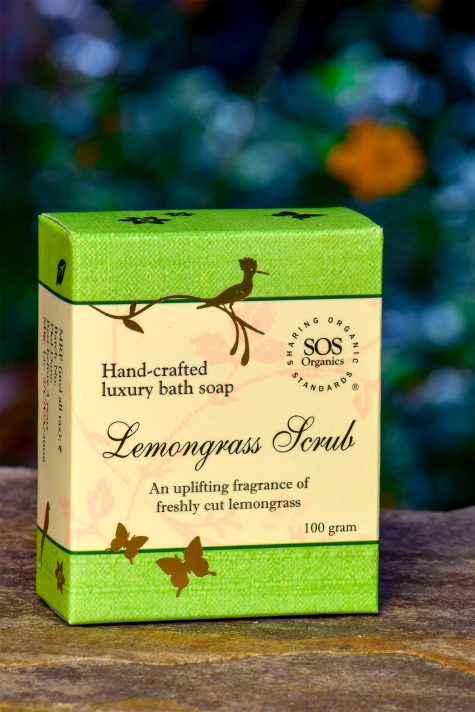 Lemongrass Scrub Soap