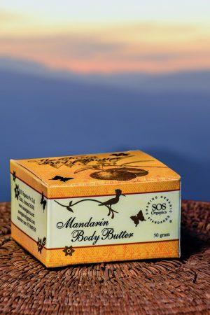 Mandarin Body Butter SOS Organics