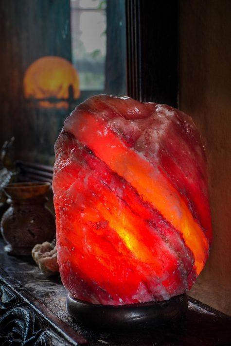 Himalayan Crystal Salt Lamp – Natural Rock