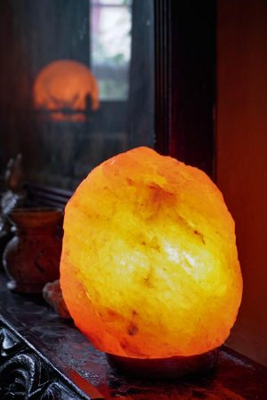 Himalayan Crystal Salt Lamp – Natural Rock