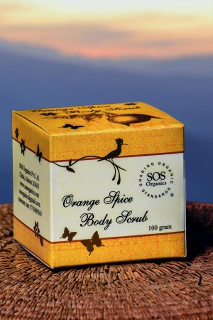 Orange Spice Body Scrub