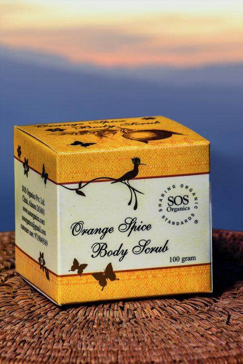 Orange Spice Body Scrub