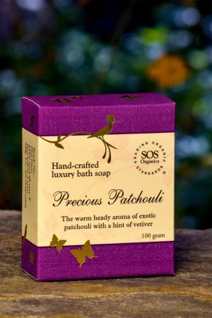 Precious Patchouli Luxury Bath Soap