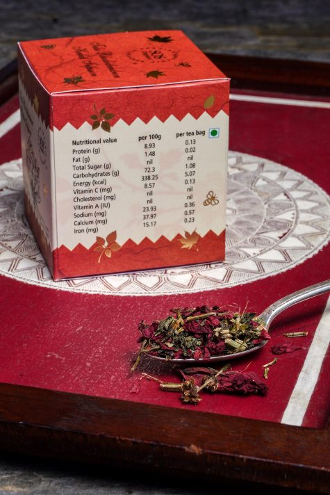Tulsi Rhododendron Himalayan Herbal Infusion