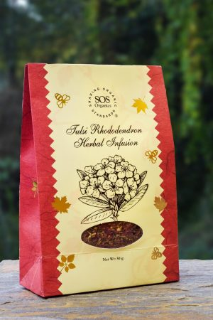 Tulsi Rhododendron Himalayan Herbal Infusion
