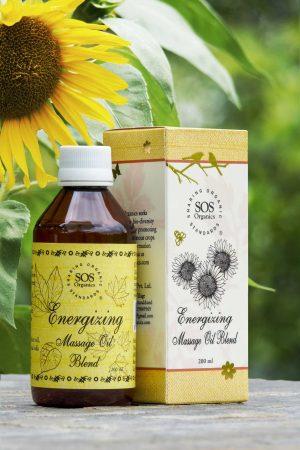 Energizing Massage Oil Blend