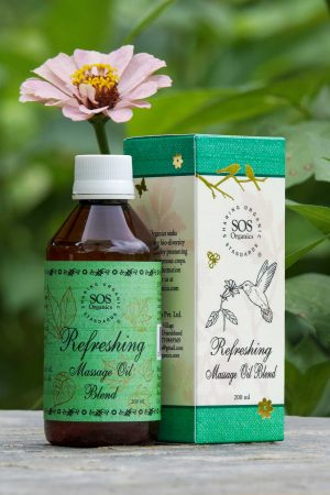 Refreshing Massage Oil Blend